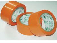 Environmental orange PVC protective tape50mm width