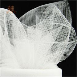 100% Nylon 6 inches diamond white tulle roll