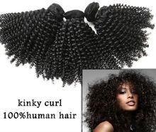mongolian braiding kinky curly human hair