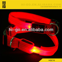 High quality led illuminate dog collar