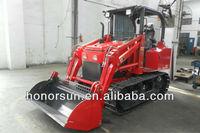 all terrain mini dozer/crawler tractor/mini track loader