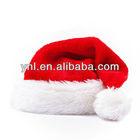 Men Women Red Plush Santa Christmas Hats XMAS Gifts Caps Holiday Party Dress