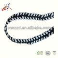 Personalizado trançado cordão de algodão