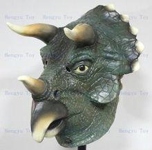 party halloween eva terror Horror dinosaur mask Triceratops mask
