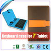 7 inch tablet keyboard case Full/Micro/Mini USB
