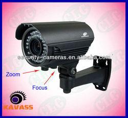 36pcs LED 40M ir distance zoom and focus ir home security ccd camera CLG-U992