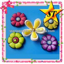 personalized flower japan souvenir 3d rubber fridge magnet