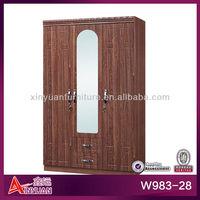 Wooden beautiful wardrobe armoire black