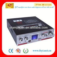 12Vdigital car subwoofer amplifier mp3 fm radio YT-K06 with lED display