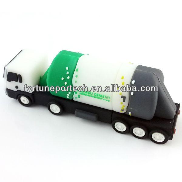 Cement usb truck shape 3D