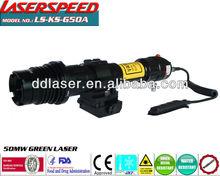 LS-KS-G50A/Tactical Low temperatures long distance 50mw green laser illuminator