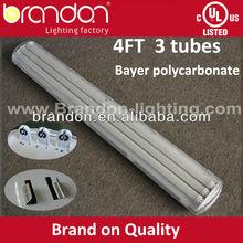 t8 waterproof fluorescent light fixtures ip65