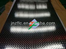 anti-skid pedal pointer pattern aluminum checker plate
