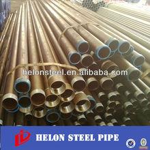 carbon welding round tubo de acero