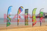 custom design promo beach flag country flags