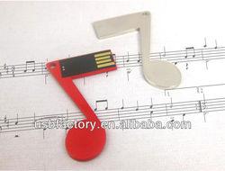 Creative music promotion gift 2gb 4gb usb flash memory, usb flash drive