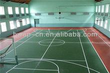 Indoor Anti Slip Floor/Vinyl Basketball Court Floor/Badminton Court Wooden Flooring