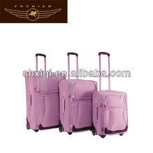 pink color eva trolley suitcase luggage