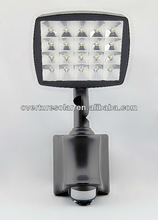 2w high brightness ,eco lanterns, JY-0004C-W-12W hot sale ABS modern lamps from garden , with PIR., CE