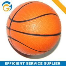 chian diminutive pu stress ball basketball for kids