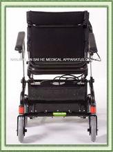 Folding aluminium light weight carbon fiber power wheelchair convert into kids toy