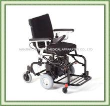 Folding aluminium light weight carbon fiber powertec f40 electric power wheelchair mobility