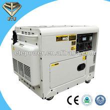 5kw Silent Portable 5kva Small Diesel Generator Canopy