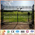 Tipos de projetos portão de ferro forjado portão/cerca de ferro fundido decoração