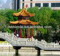 de asia oriental a prueba de agua de estilo chino baldosas de cerámica para el paisaje histórico de los sitios