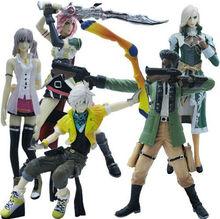 "5pcs Set Final Fantasy XIII FF13 Figure 12cm/4.5"""