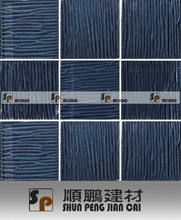 300x300 bathroom tile,blue color glass mosaic,kitchen backsplash,interior wall,hotel and home