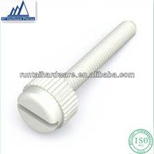 plastic knurled thumb screws plastic thumb screw