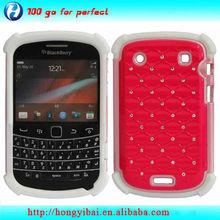 Cell phone case maker bling case for blackberry bold 9900/9930