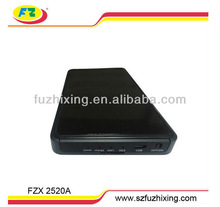 2.5inch nas hard drive enclosure wifi hdd enclosure wireless sata hdd caddy/box