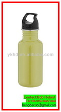 Innovative promotional new design slim metal water bottle