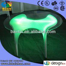 PE plastic led drawing table