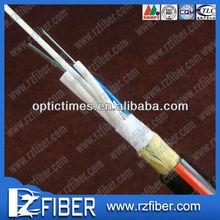 Outdoor Optical Fiber cable ADSS aerial telecom