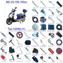 ATV parts Scooter parts Moped Parts Motorcycle Parts CG/CB/CG/GY6 50/70/90/110/125/200/250cc all parts available MC-23-150 150cc