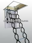 hottest Adjustable Steel Telescopic Loft Ladder