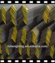 MS equal/unequal black & galvanized steel angle bars
