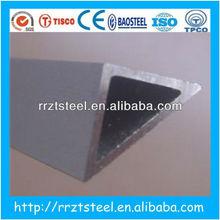 Price cutting!!!triangle aluminum profile tube