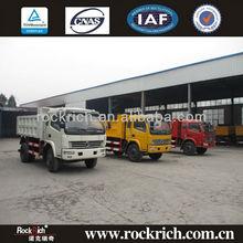 Sitom Tri-ring Sand Loading 10T Light Tipper Trucks For Sale