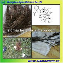 Pharmaceutical Grade Root Extract Analgesic Raw Materials Aconitum Sinomontanum Nakai Extract With GMP Factory