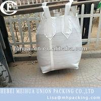 packing sand in big bag/jumbo bag 2 ton