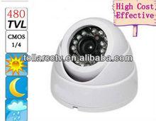 Promotion Price 480TVL indoor ir dome camera using 633+nextchip2040 pcb board cctv security surveillance camera