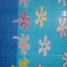 Blue Printing Polar Fleece Blanket Adult Queen Size Bedsheet 100 Polyester Sheet Manufacturer Wholesale #7Y09170-6