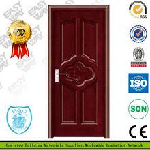 Plain solid wood interior door