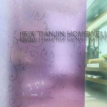 embossing pattern adhesive window film anti-UV anti glare film for glass
