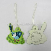 Mini plastic luggage tag& bird shape luggage tag gifts