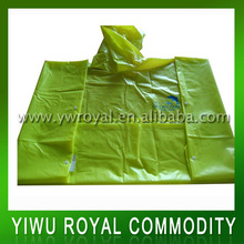 High Quality Disposable Rain Ponchos With Logo